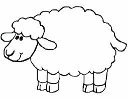 Small Picture Sheep Coloring Pages Free Printable Sheep Coloring Pages For Kids