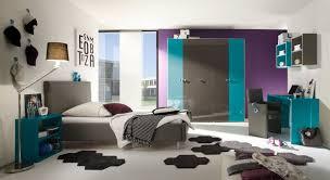 Schlafzimmer Jugendzimmer Anthrazit Türkis Hochglanz Lack Italien