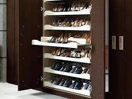 bedroom shoe shelves slide out shoe rack bedroom shoe racks