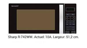 AVIS - Sharp R-742WW Micro-ondes Gril 25 litres - Blanc - YouTube