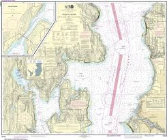Puget Sound Chart Noaa Nautical Chart 18446 Puget Sound Apple Cove Point To Keyport Agate Passage