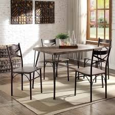 bedroomexciting small dining tables mariposa valley farm. Furniture Of America Hathway Industrial 5 Piece Dark Bronze Small Dining Set Bedroomexciting Tables Mariposa Valley Farm