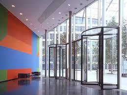 oversized revolving doors