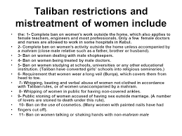 islam islam followers of islam are called muslims the holy book is  13 taliban restrictions