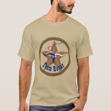 texas flag steer head with rope team roper t shirt