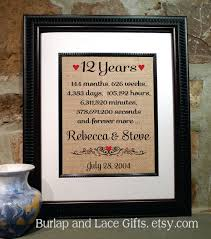 12th anniversary 12 years together years months weeks days Wedding Anniversary Gifts Under 200 Wedding Anniversary Gifts Under 200 #48 Gifts for Women $200
