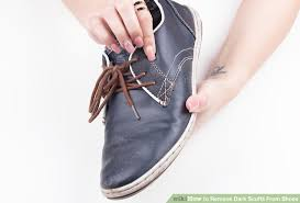 image titled remove dark scuffs from shoes step 1