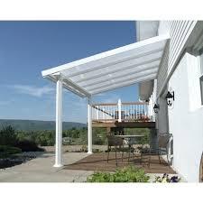 com patio cover x white greenhouse palram feria 3 review arrow sheds attached