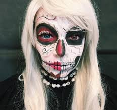 skeleton makeup designs trends ideas