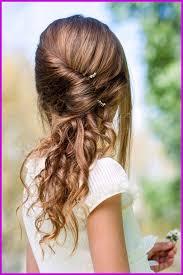 Coiffure De Mariage Cheveux Mi Long Facile Enfant 335523 Les