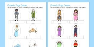 Cinderella Finger Puppets Finger Puppets Cinderella Puppets