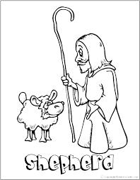 Good Shepherd Coloring Page