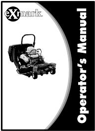 Exmark Lazer Z Light Kit Exmark Ultra Vac Lazer Z As Users Manual