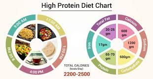 High Protein Foods Chart Diet Chart For High Protein Patient High Protein Diet Chart