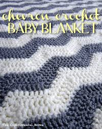 Double Crochet Chevron Blanket Pattern Simple Decorating Design
