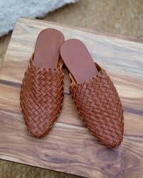 woven leather mules return to previous page lightbox