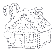 gingerbread house clipart black and white. Beautiful White In Gingerbread House Clipart Black And White R
