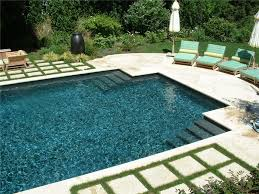 Geometric Rectangle with Attached Spa Aqua Pro Swimming Pool Gallery