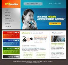 Free Website Templates Html Impressive VOIP Provider Online Template TemplatesBox