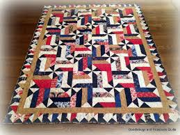 Red White And Blue Quilt Patterns