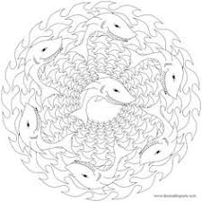 Small Picture 3D Sharks Colouring Book sample pages Dover Publications