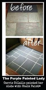 vinyl floor concrete look how to paint vinyl floors the purple painted lady french linen graphite