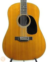 Martin D 12 35 Late 60s Natural Price Guide Reverb
