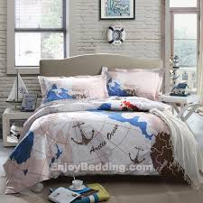 magnificent nautical comforter sets home and textiles intended for