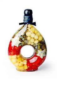 Decorative Pepper Bottles Decorated Vinegar Bottle Chili Peppers Infusions Pinterest 37