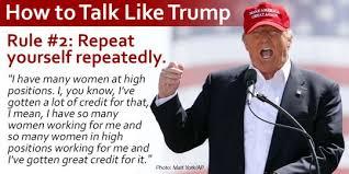 Trump Speech Pattern
