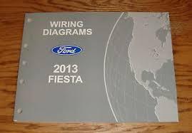 original 2013 ford fiesta wiring diagrams manual 13 ebay 2014 ford fiesta wiring diagram at 2013 Ford Fiesta Wiring Diagram