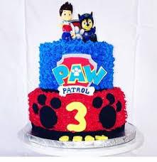 d3a83c03b c4655d2632f gateau paw patrol paw patrol party cake
