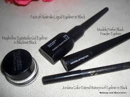 battle of the eyeliners pencil vs liquid vs gel vs powder makeup and macaroons