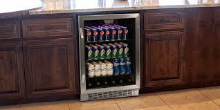 freestanding vs built in beverage