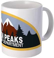11 ounce Mug - Twin Peaks Sheriff Department Mug ... - Amazon.com