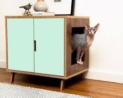chic cat furniture. Interesting Cat Amazing Chic Cat Litter Box Cabinet Mid Century Modern Pet Furniture By  Modernistcat On