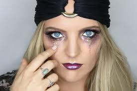 halloween makeup fortune teller