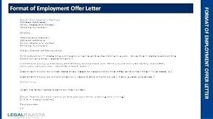 Job Offer Letters Conditional Employment Letter Sample Template Of ...