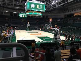 Watsco Center Seating Chart Basketball Watsco Section 118 Rateyourseats Com
