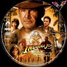 Indiana Jones 4 - und das Königreich des Kristallschädels dvd labels (2008)  R2 German Custom
