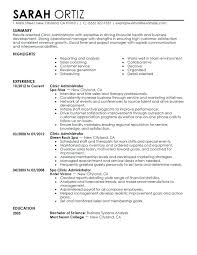 Healthcare Administration Resume Health Administration Resume