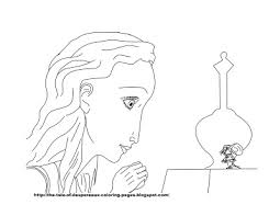 princess and the pea coloring page. the tale of despereaux coloring pages: pages -- princess pea and page