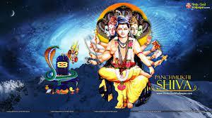 Panchamukha Shiva HD Wallpaper Free ...
