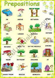 Prepositions Esl Worksheet By Vanda51