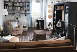 Ikea Decorating Living Room Ikea Small Rooms Minimal And Modern Paris Apartment Living Room