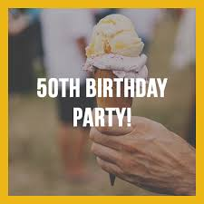 program for 50th birthday celebration 50th birthday party erie metroparks