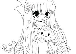 Cute Anime Coloring Pages Cute Coloring Pages For Kids Free