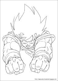 Goku Coloring Page Awesome Dragon Ball Z Coloring Pages Print Free