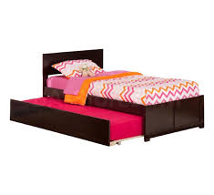 Orlando Bedroom Furniture Orlando Platform Bed Flat Footboard Urban Trundle Espresso