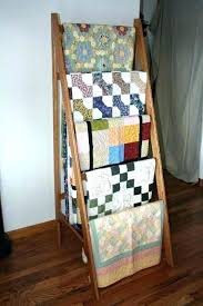 Quilt Stands For Display Inspiration Quilt Ladders For Sale Quilt Display Ladder Quilt Stands For Display